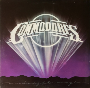 Commodores ‎- Midnight Magic (LP) (EX/VG-) (1)